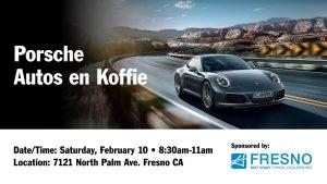 Auto's en Koffie @ Porsche Fresno @ Auto's en Koffie @ Porsche Fresno | Fresno | California | United States