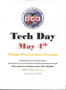 Paint Protection Tech Event @ Paint Protection | Fresno | California | United States