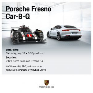 Porsche Fresno - Car-B-Q @ Porsche Fresno   Fresno   California   United States