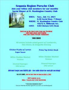 Fort Washington Country Club Dinner @ Fort Washington Country Club | Fresno | California | United States