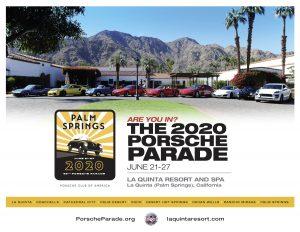 CANCELED 2020 Porsche Parade @ 2020 Porsche Parade | La Quinta | California | United States