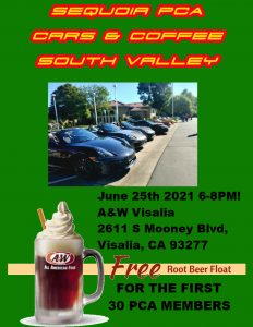Cars & Coffee South Valley @ A&W Visalia | Visalia | California | United States